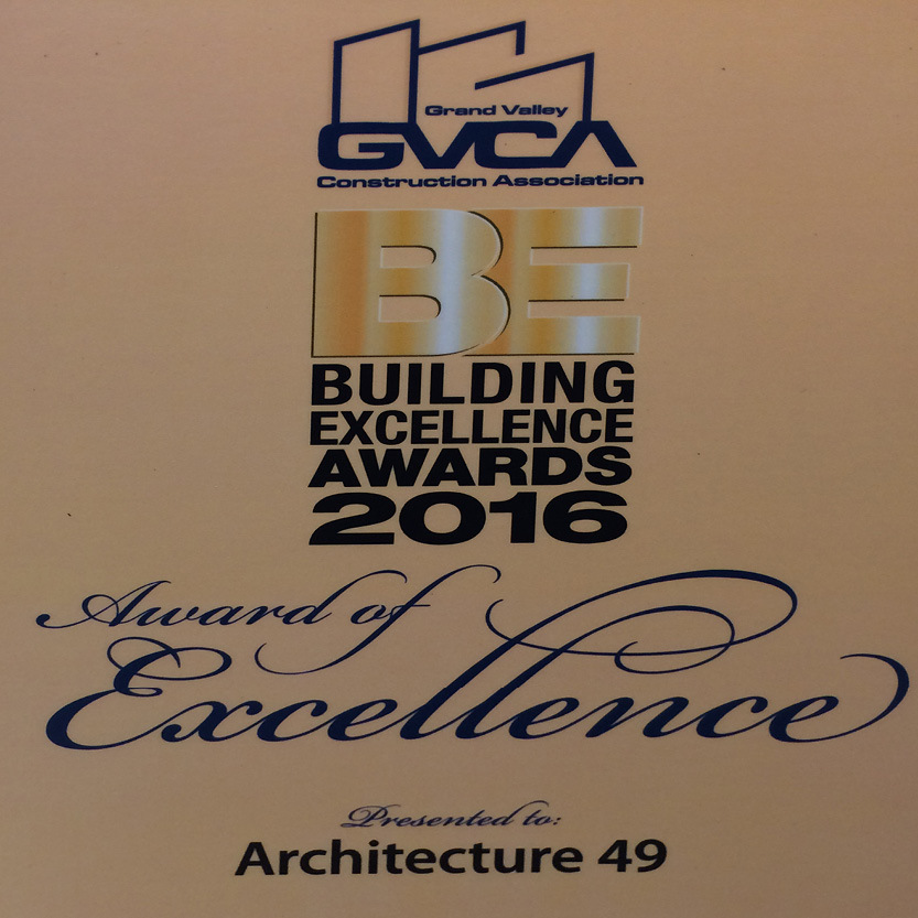 Meridian Centre wins Grand Valley Construction Association Building Excellence Award