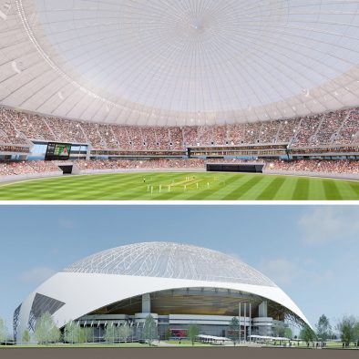 Architecture49 Designs 35,000 Seat Cricket Stadium