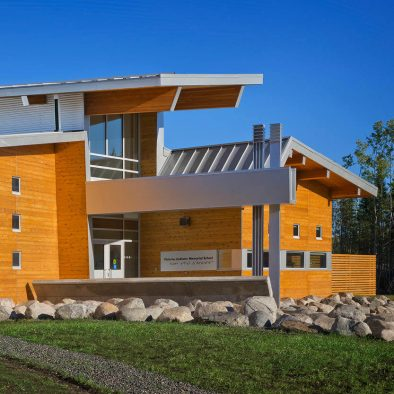 Victoria Linklater Memorial School is the featured project of the week in Real Cedar