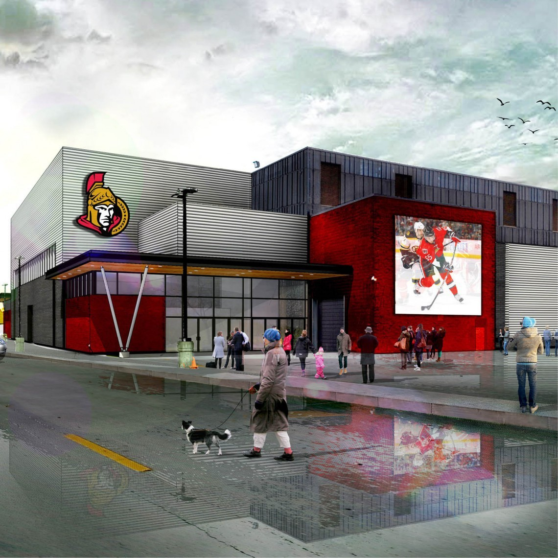 AHL Sens loving new digs