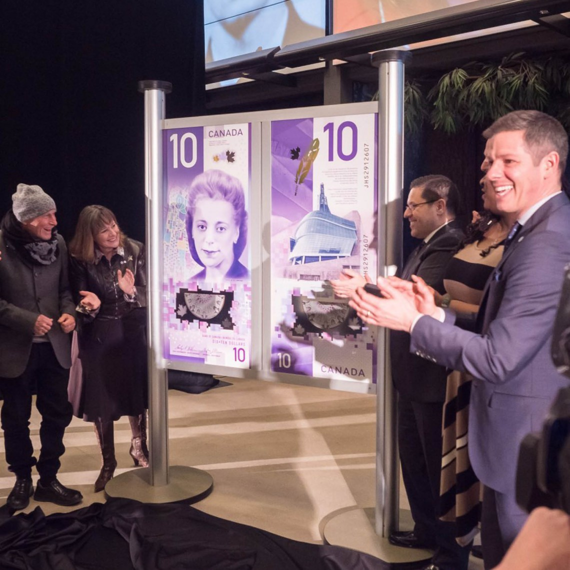 New $10 bill featuring Viola Desmond also depicts Winnipeg human rights museum